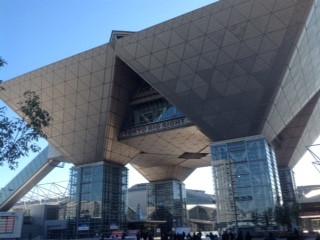 東京出張 宝石展示会