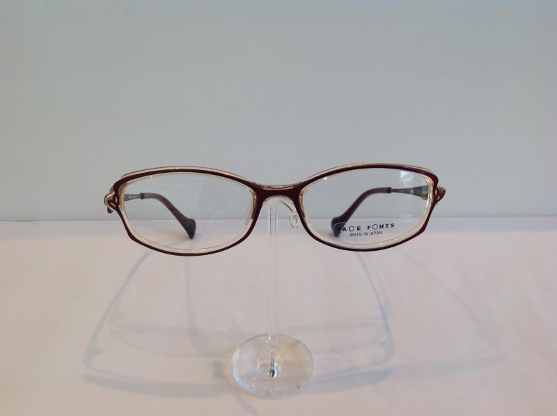 フォント デザインの様に眼鏡をかける人の表情を豊かにしたい…『フェイス フォント』