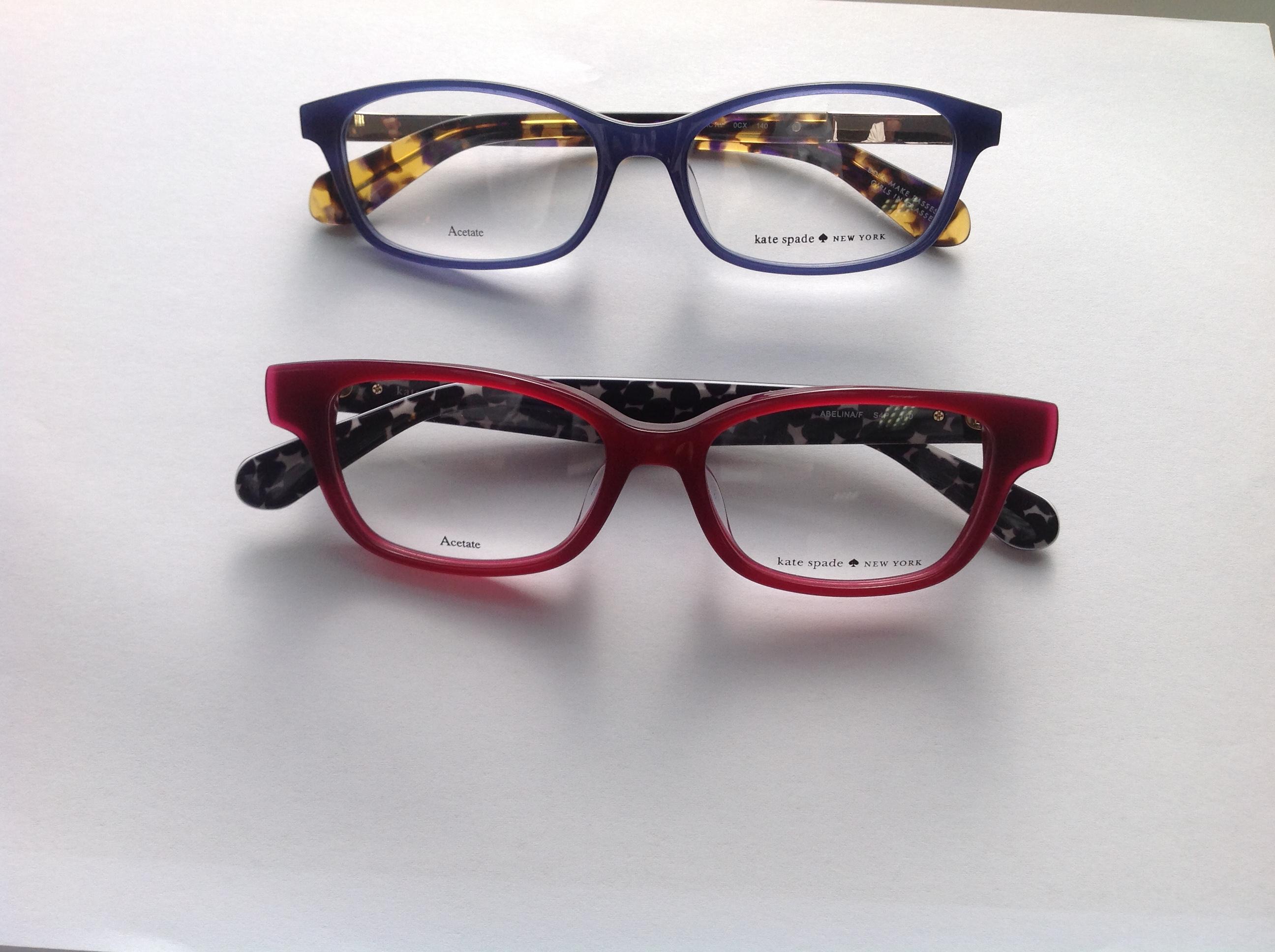 ケイト・スペードニューヨークのメガネ・サングラス