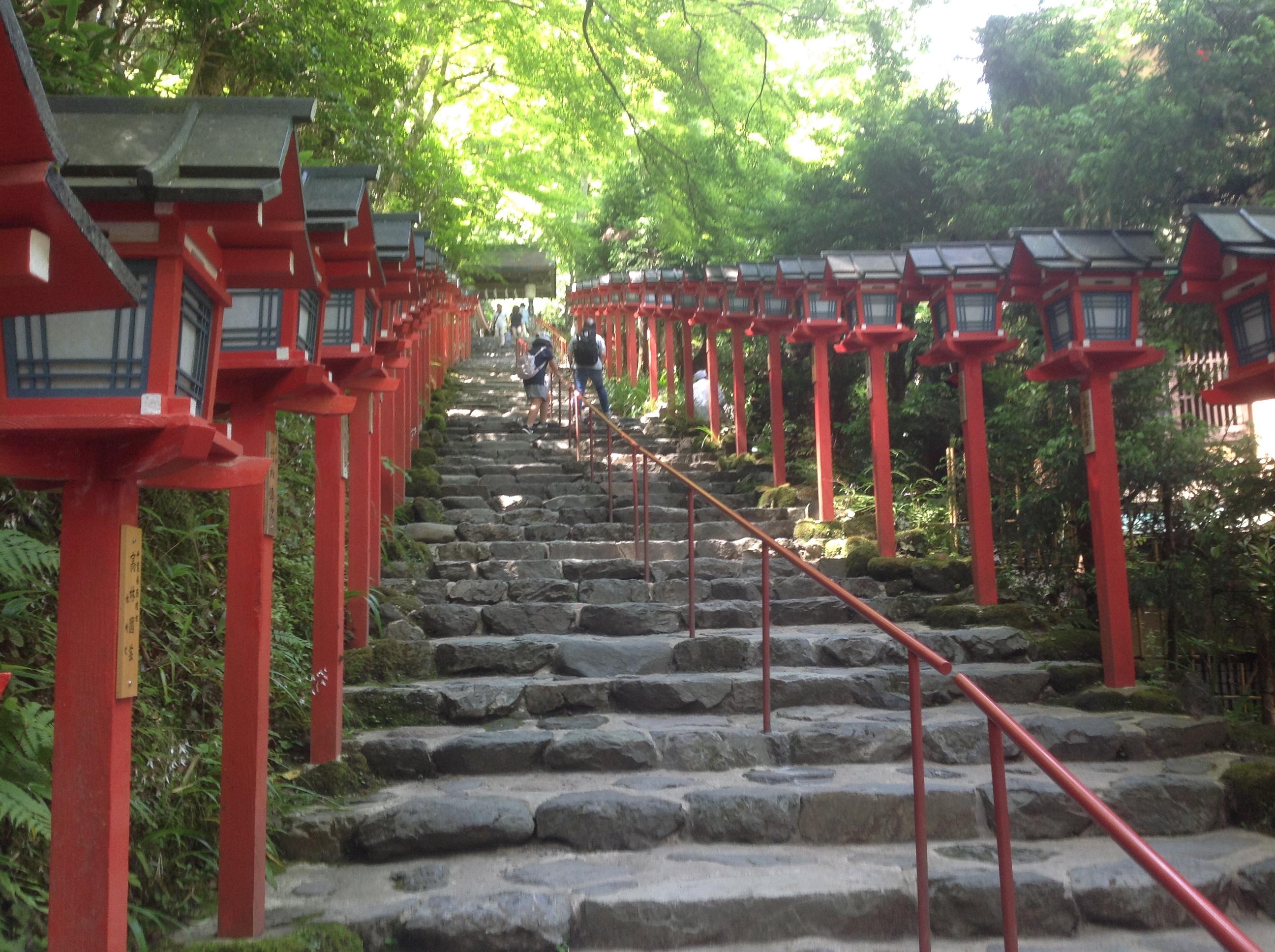 京都出張 貴船神社