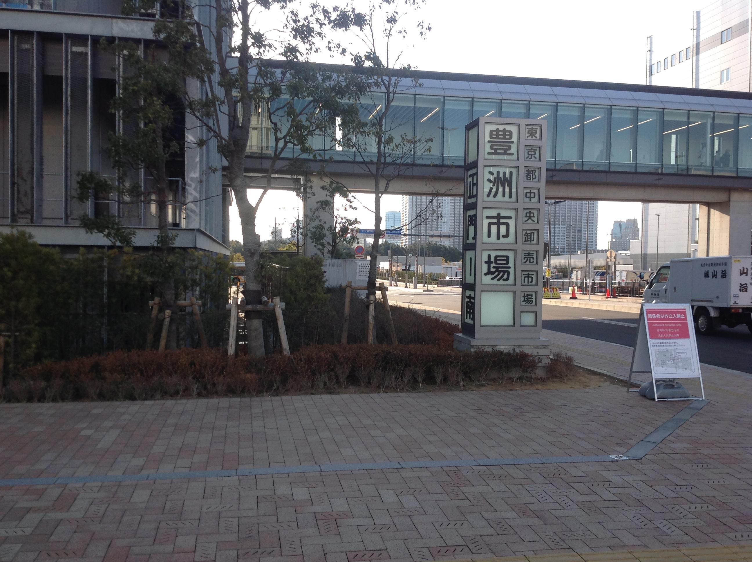 東京出張 豊洲市場