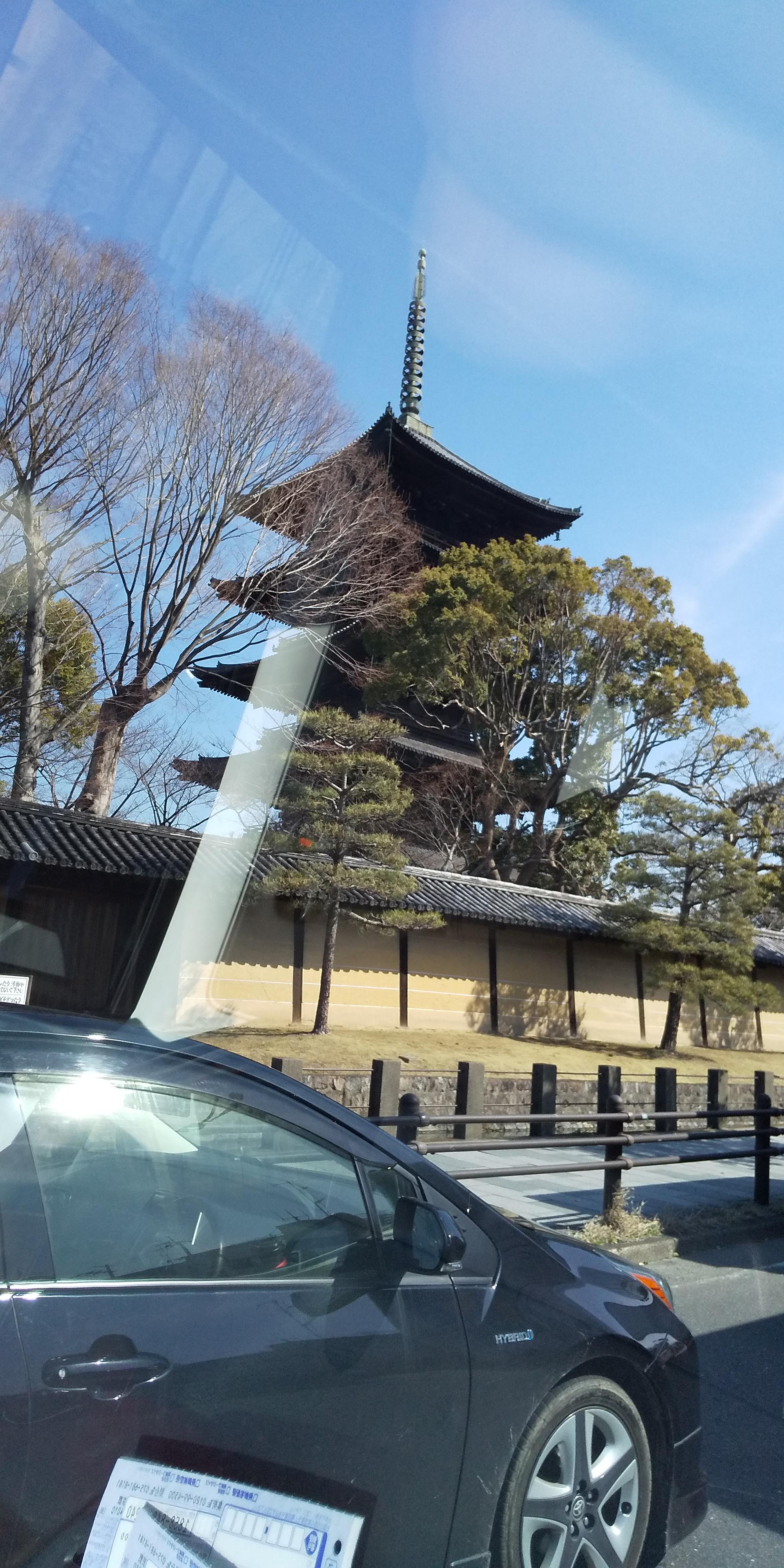 長女の引越しで京都に行きました。