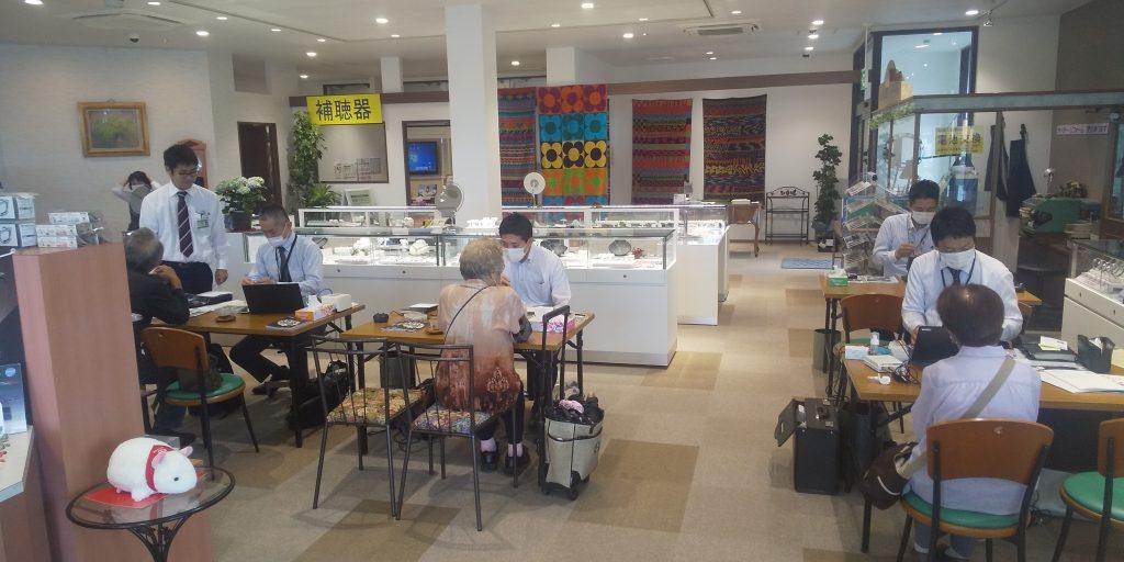 認定補聴器専門店トム・フクダ阿知須本店の補聴器相談・点検会