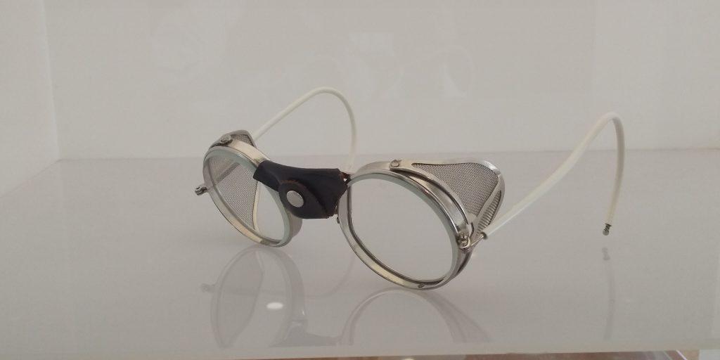 山口市のお客様のヴィンテージメガネのレンズ交換