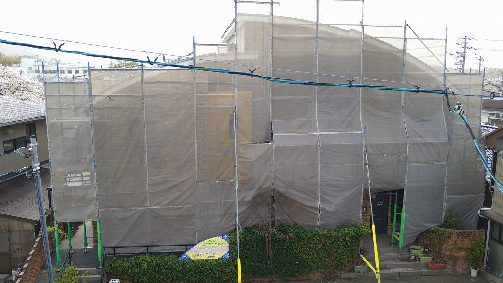トム・フクダ宝飾サロン 外壁工事
