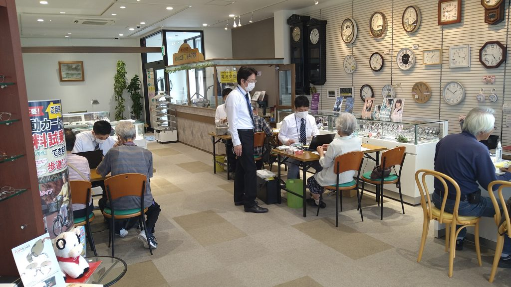 認定補聴器専門店 トム・フクダ阿知須本店の補聴器相談会